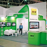 Stand for RT Company