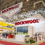 Stand for ROCKWOOL