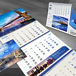 Set of corporate calendars for Inline Group