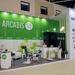 Stand for Arcadis Company