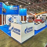 Stand for Gazprom Chimvolokno