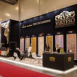 Stand for Virteso Company