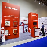 Stand for ROCKWOOL Company