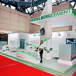 Stand for Heidelberg Cement
