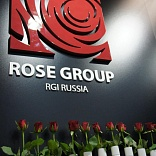 Stand for ROSE GROUP