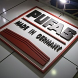 Stand for PUFAS Company