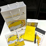 Set of corporate printing and promotional gifts for Rosneft