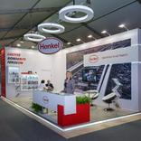 Stand for Henkel Company