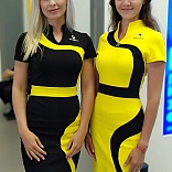 Dresses for hostess of Rosneft stand